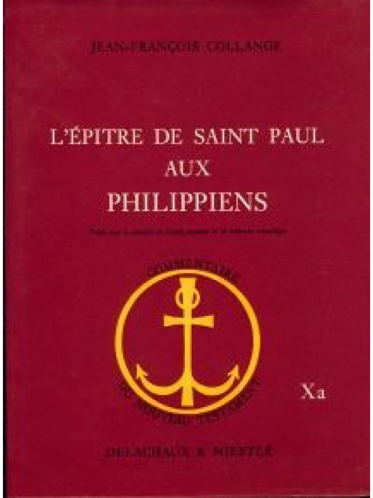 Epître de saint Paul aux Philippiens (L') (broché)