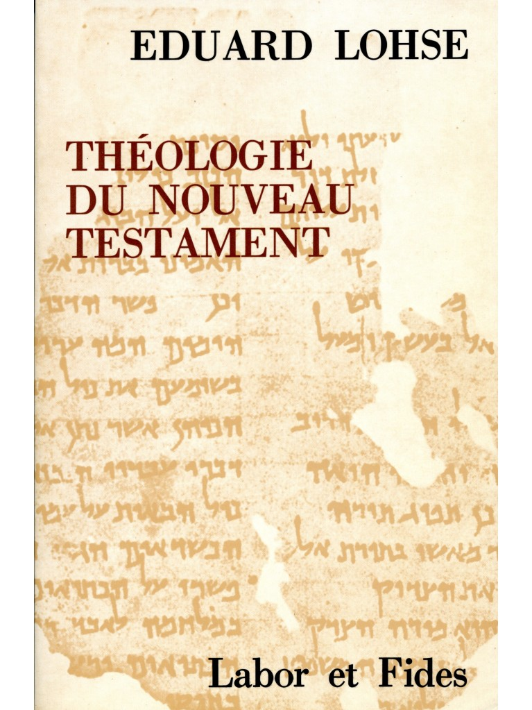 Théologie du Nouveau Testament