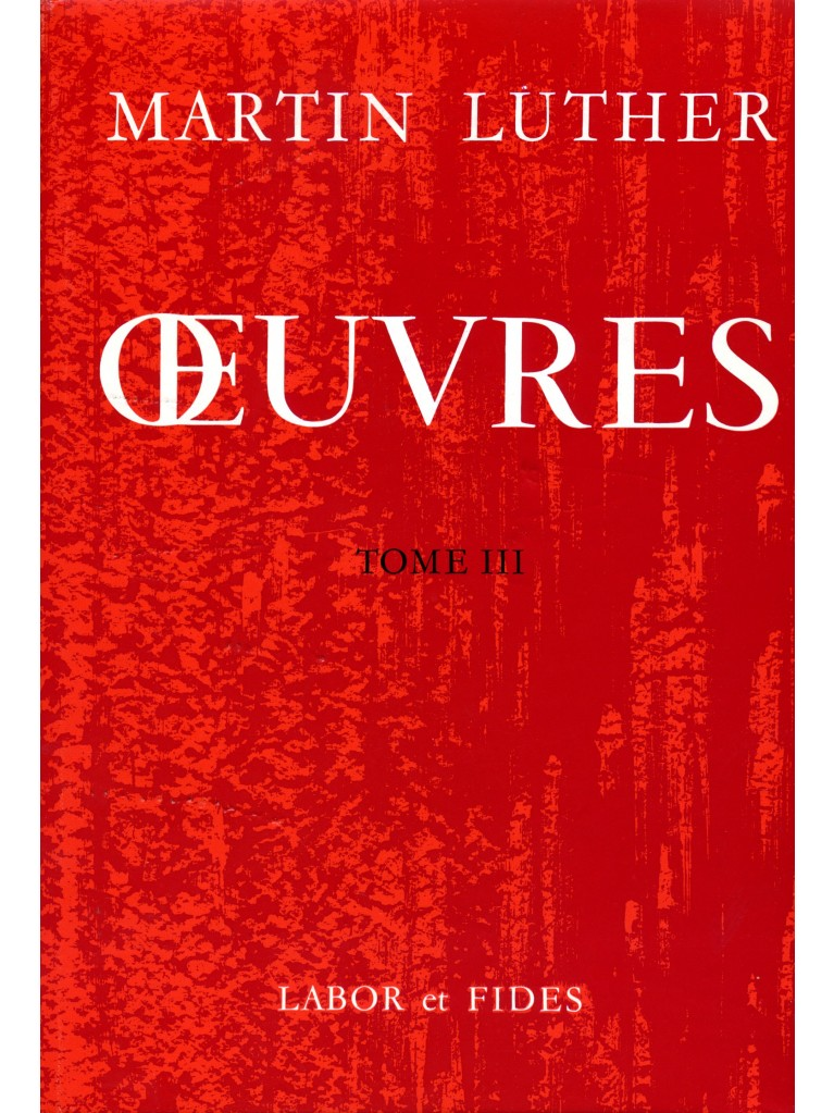 Oeuvres choisies, tome 03 (relié)