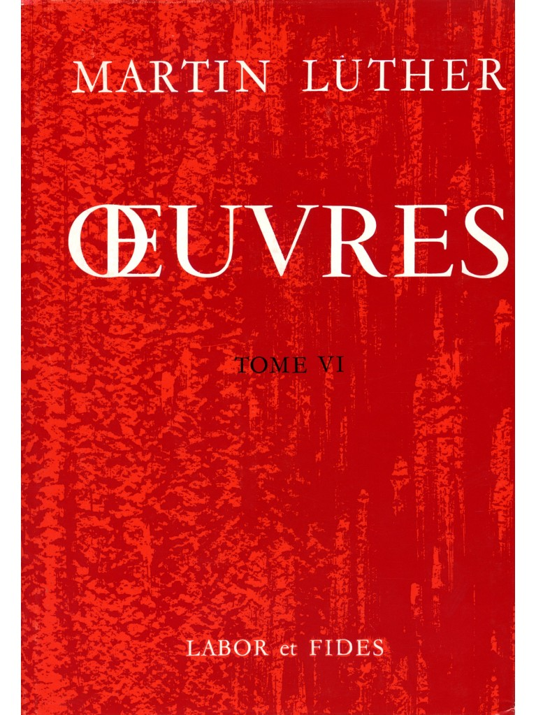 Oeuvres choisies, tome 06 (broché)