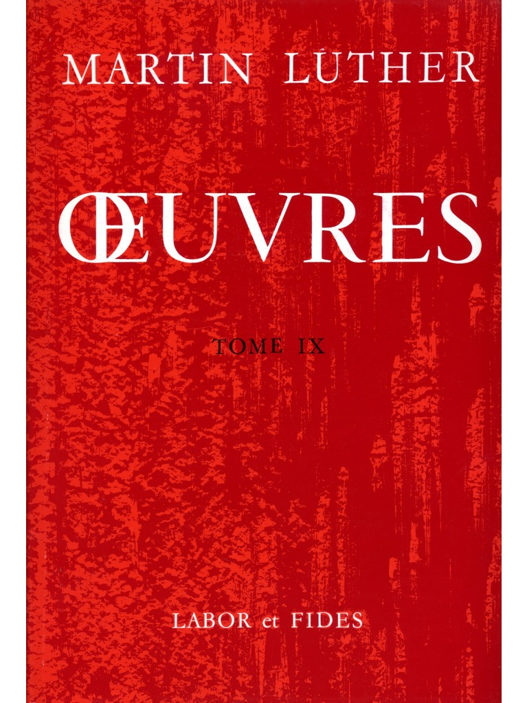 Oeuvres choisies, tome 09 (broché) - Epuisé