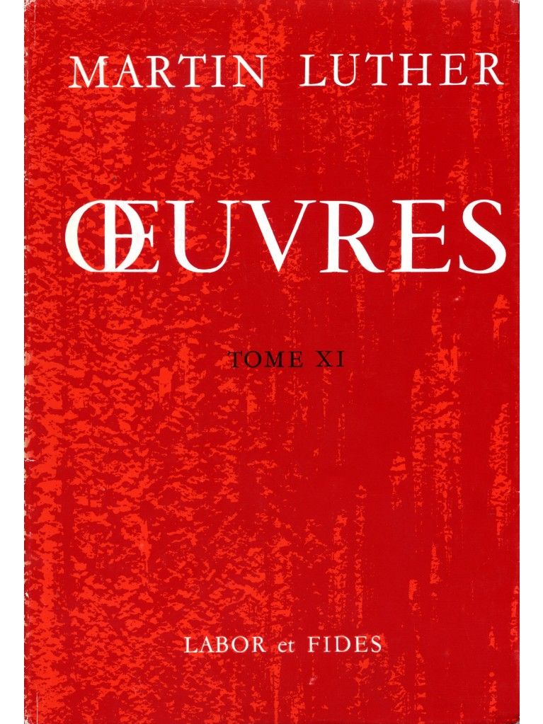 Oeuvres choisies, tome 11 (relié)