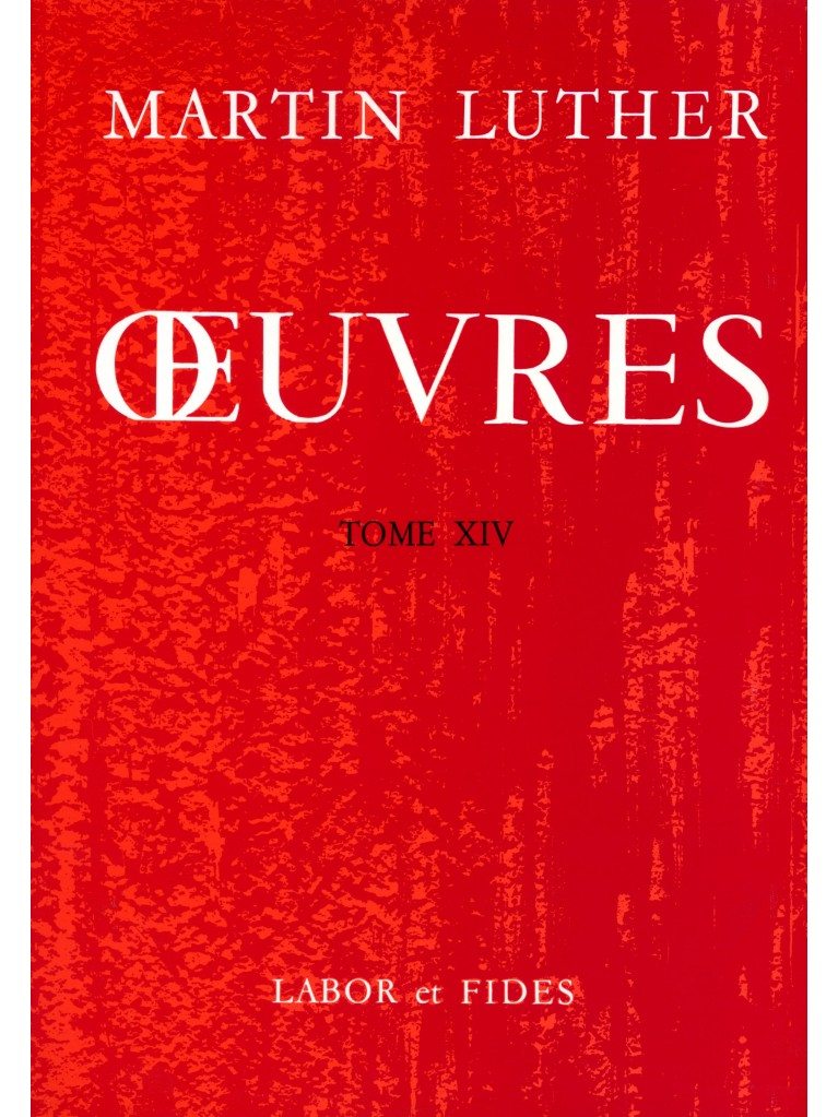 Œuvres choisies, tome 14 (broché)