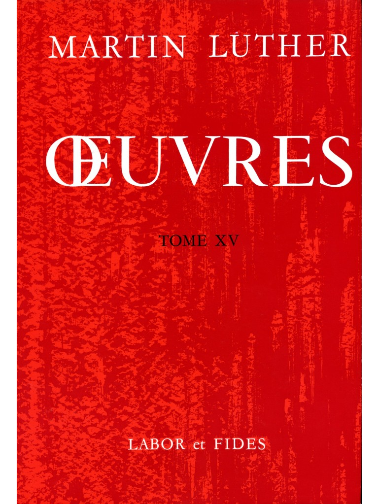 Oeuvres choisies, tome 15 (broché)