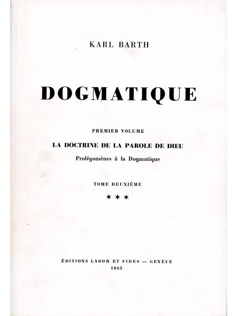 Dogmatique, tome 05 (broché)