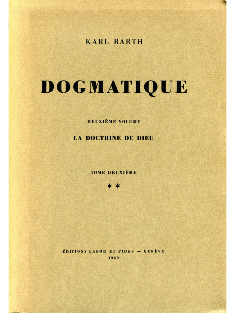 Dogmatique, tome 09 (broché)