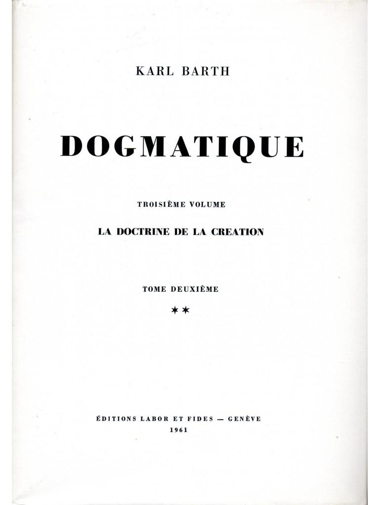 Dogmatique, tome 12 (relié)
