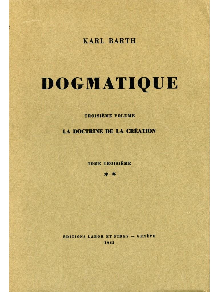 Dogmatique, tome 14 (broché)
