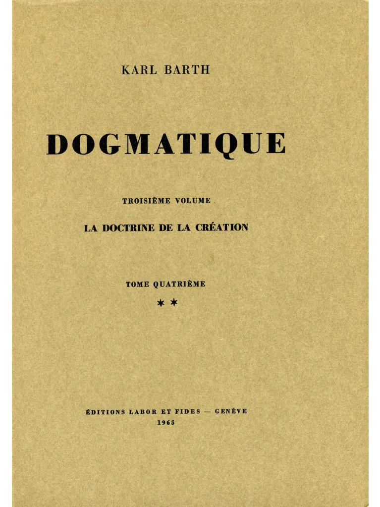 Dogmatique, tome 16 (broché)