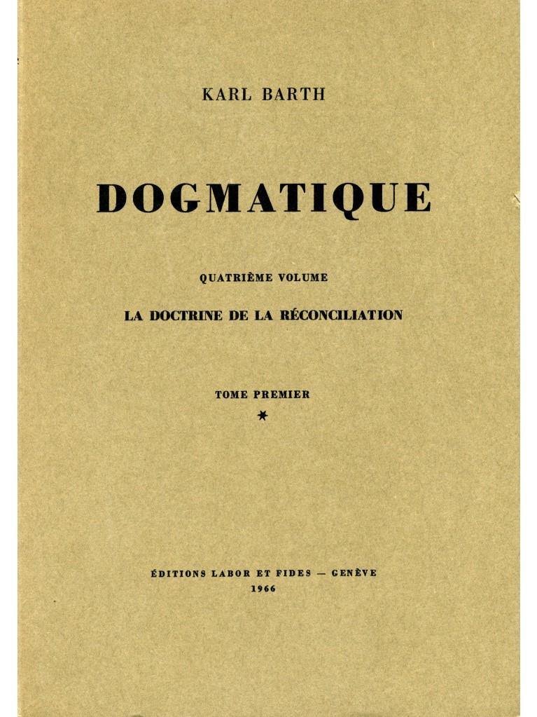 Dogmatique, tome 17 (broché)