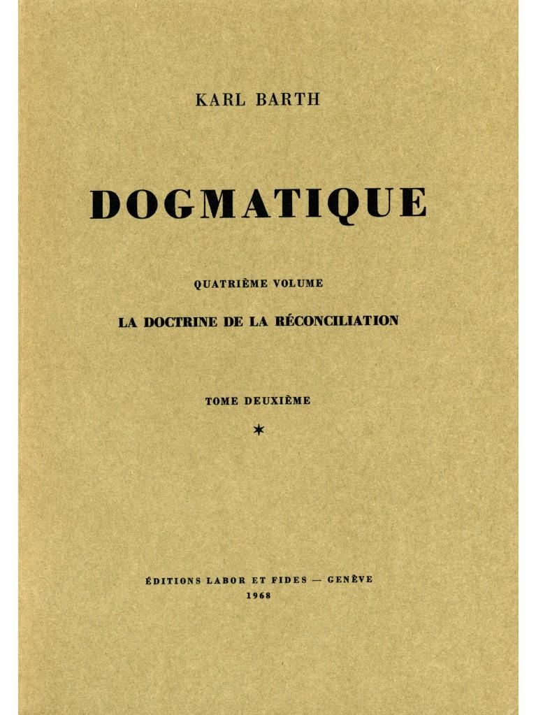 Dogmatique, tome 20 (broché)