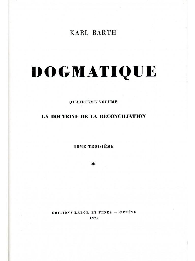 Dogmatique, tome 23 (relié)