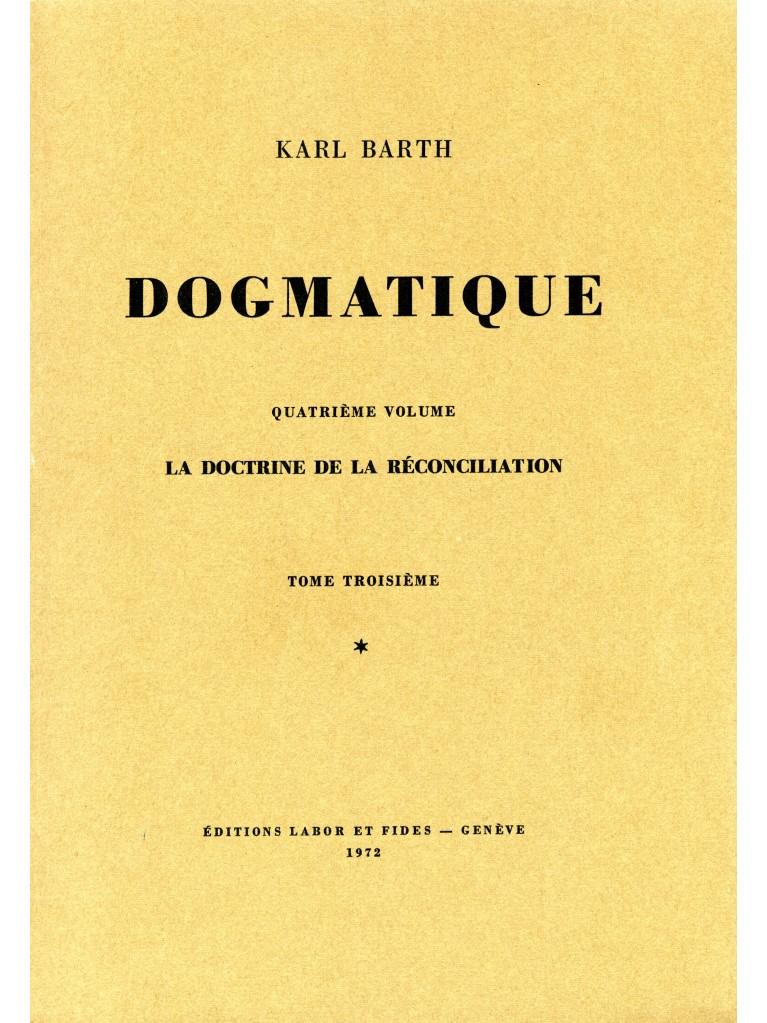 Dogmatique, tome 23 (broché)