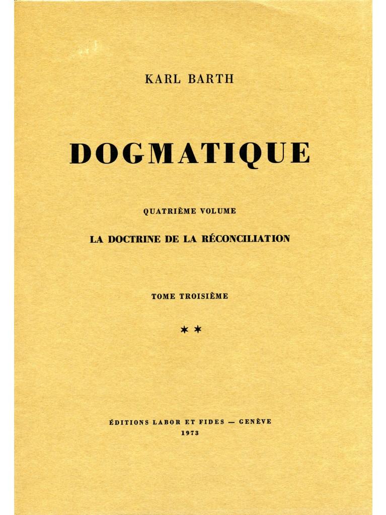 Dogmatique, tome 24 (broché)