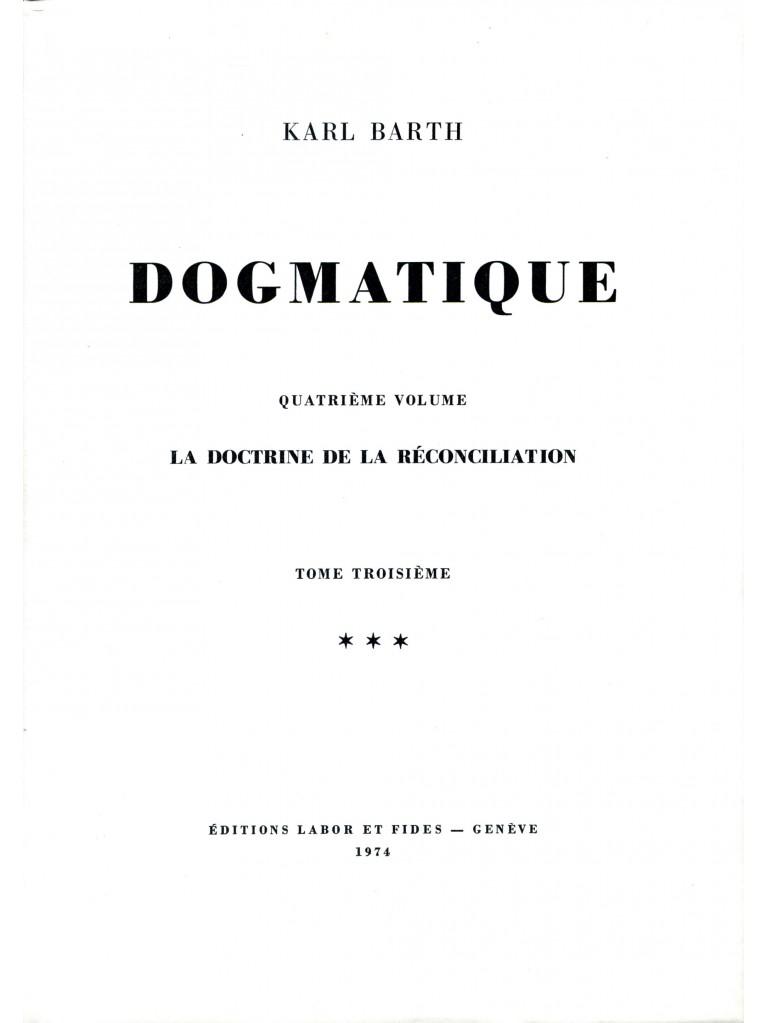 Dogmatique, tome 25 (relié)