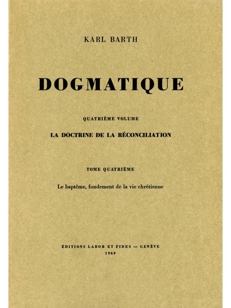 Dogmatique, tome 26 (broché)