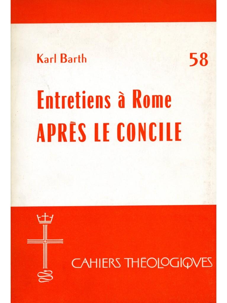 Entretiens à Rome après le Concile