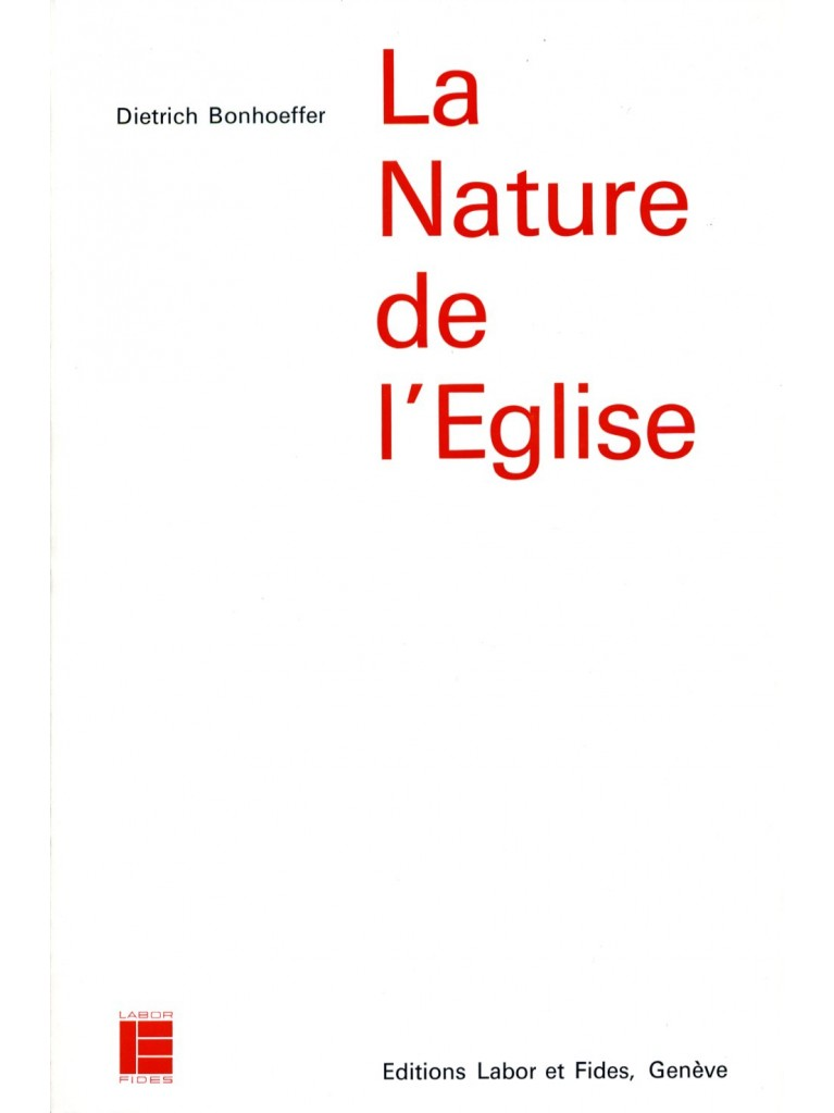 La nature de l'Eglise
