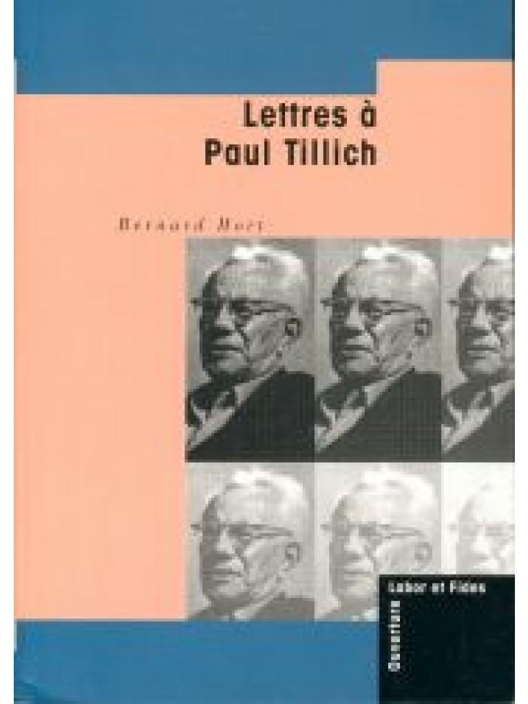 Lettres à Paul Tillich (épuisé)