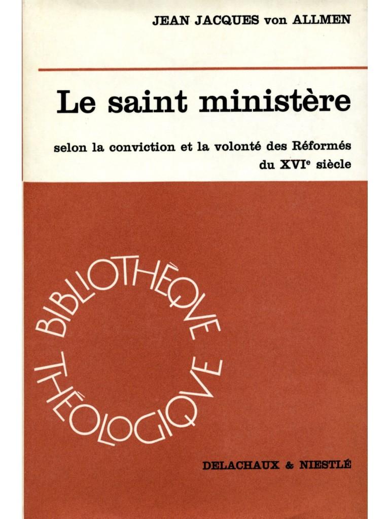 Le Saint ministère (relié)