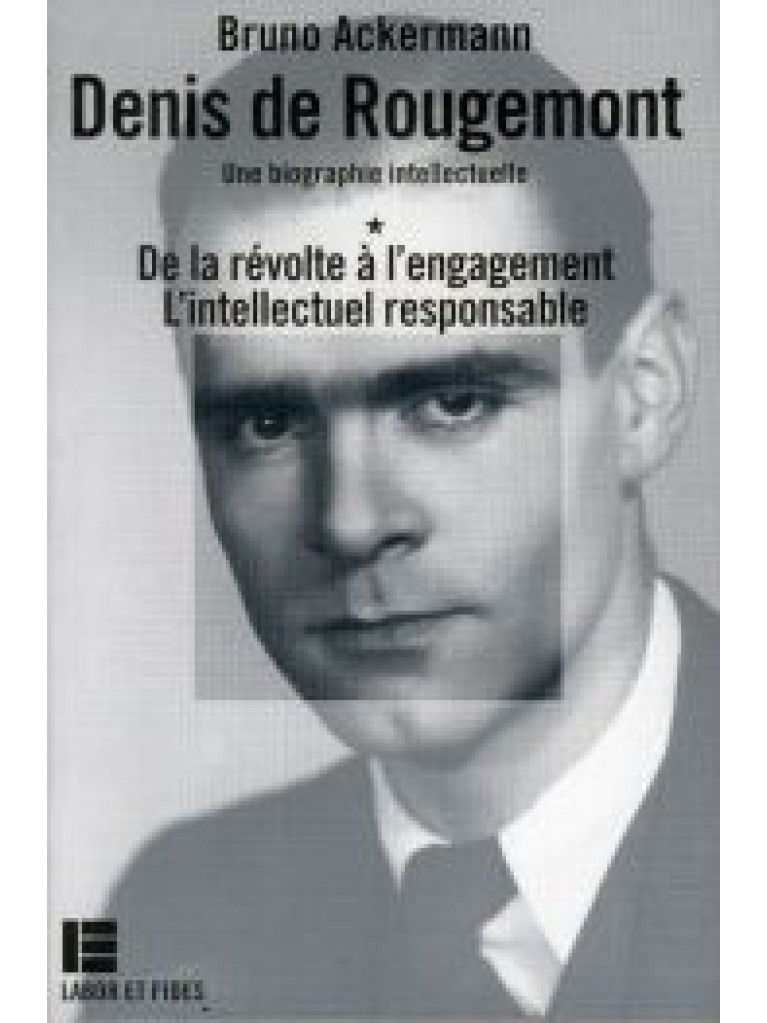 Denis de Rougemont (coffret 2 volumes)
