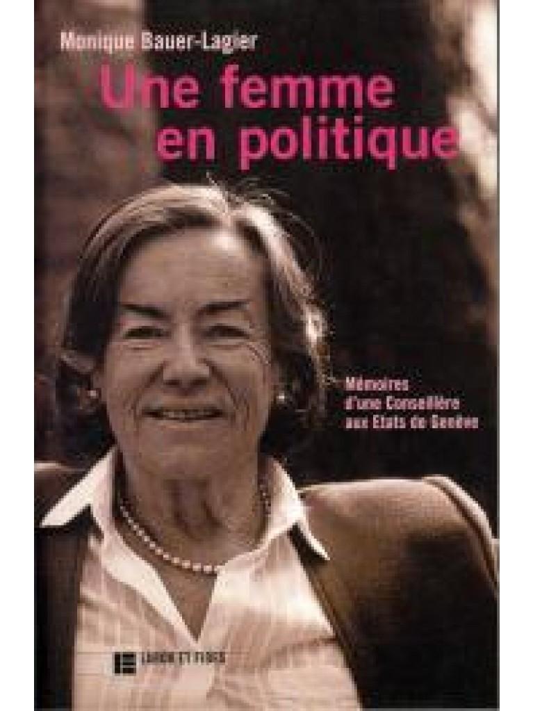Une femme en politique