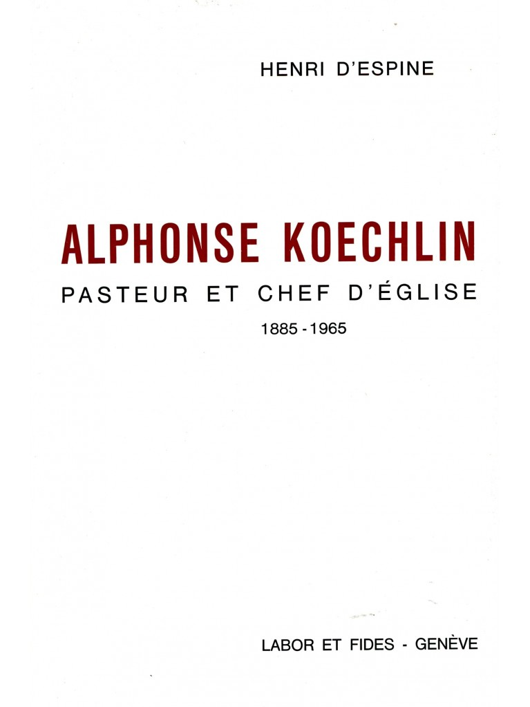 Alphonse Koechlin