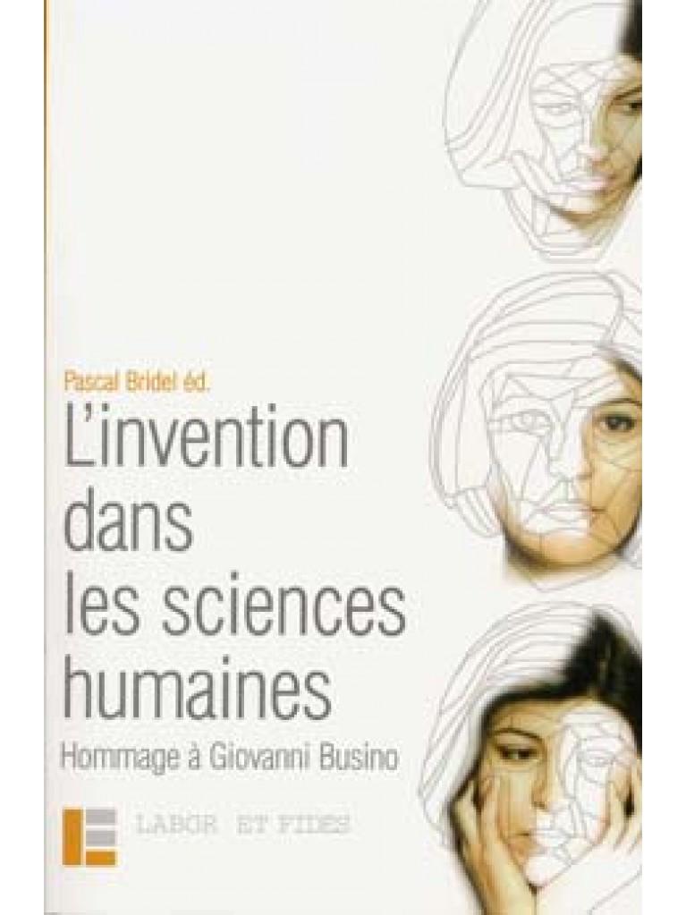 L'invention dans les sciences humaines