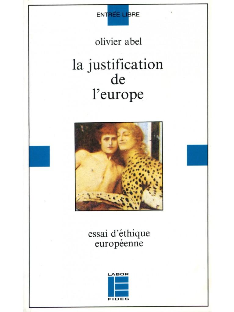 La justification de l'Europe