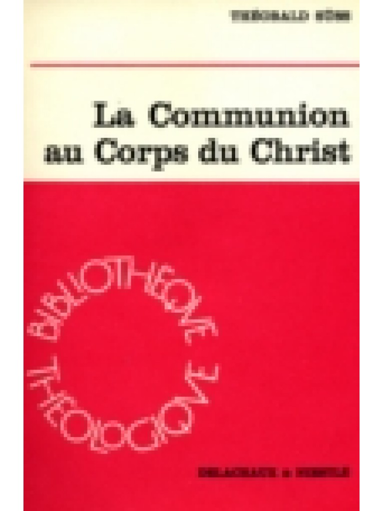 La communion au Corps du Christ