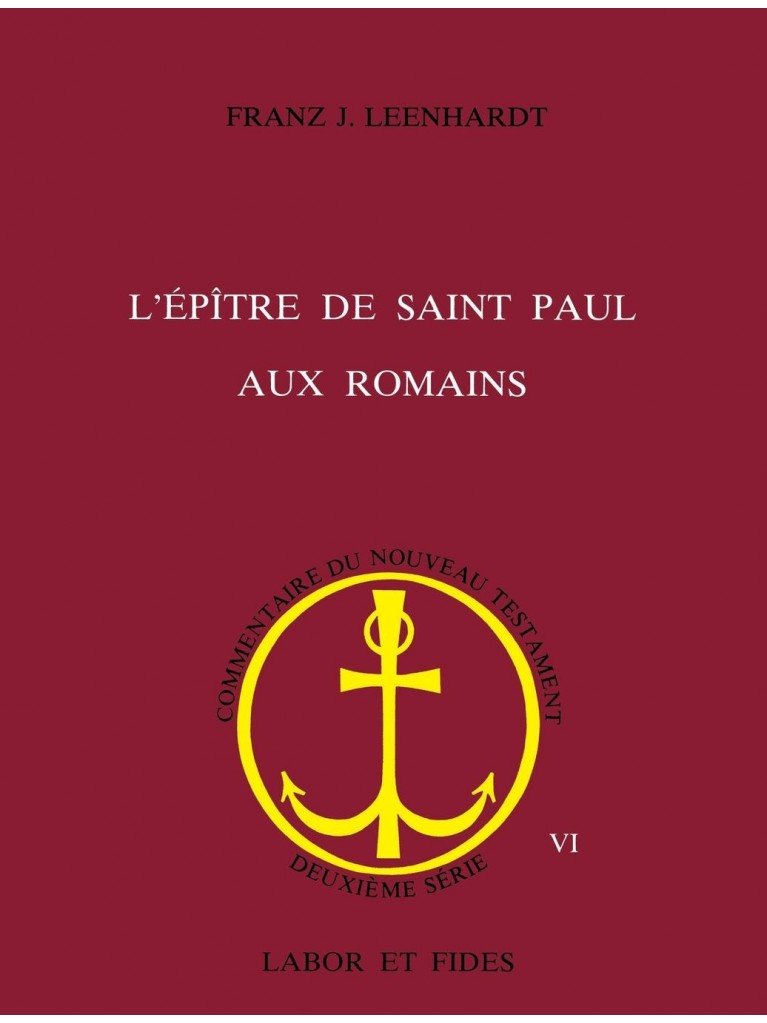 L'Epître de saint Paul aux Romains - Titre imprimé à la demande