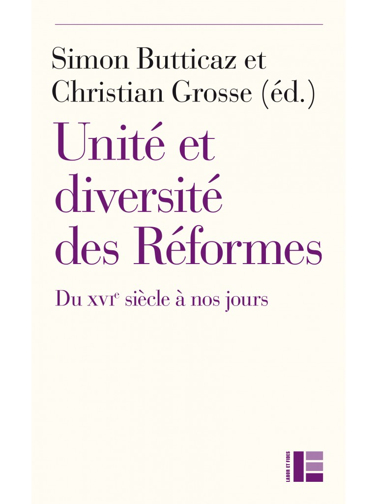 Unité et diversité des Réformes