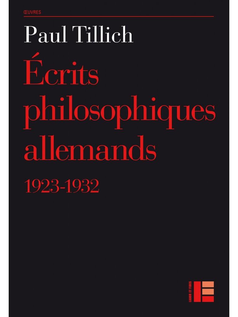 Ecrits philosophiques allemands